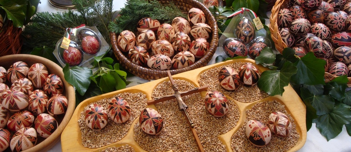 Easter egg painting course Budapest