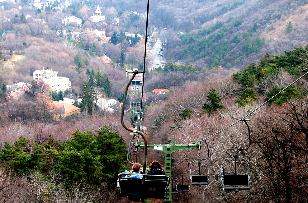 Buda Hills for kids Chairlift