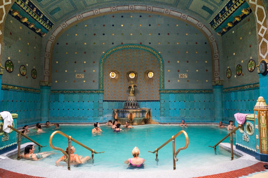 Gellert Baths By Nan Palmero