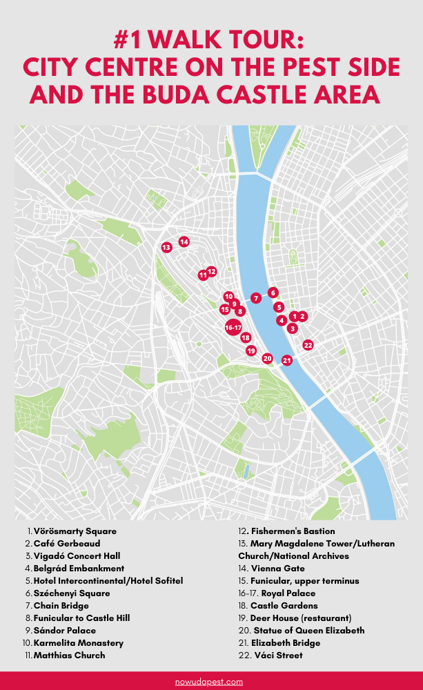 Walk Tour: City Centre On The Pest Side And The Buda Castle Area