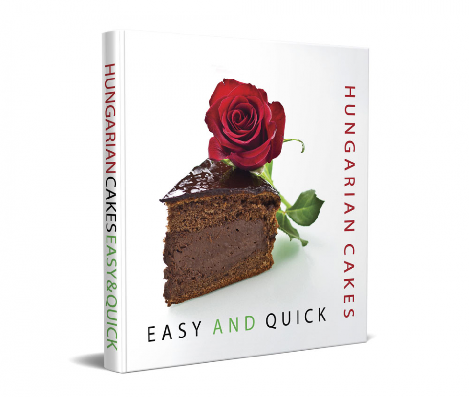 Easy Hungarian Cakes book cover